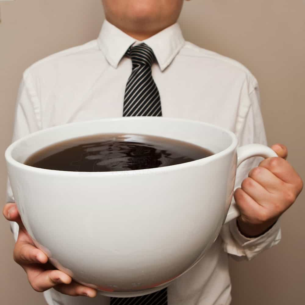 One more cup of coffee?