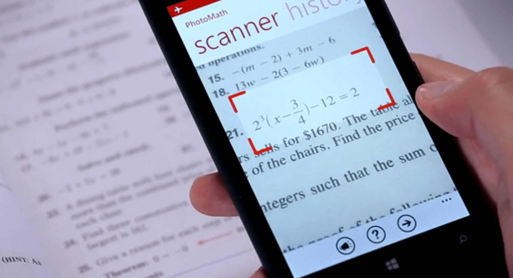how camera calculator works photomath homework solver