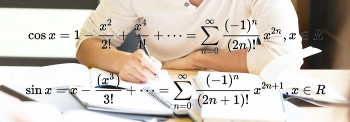 Constructing Taylor series for Sine and Cosine