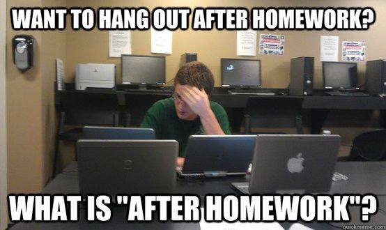Do students get too much homework