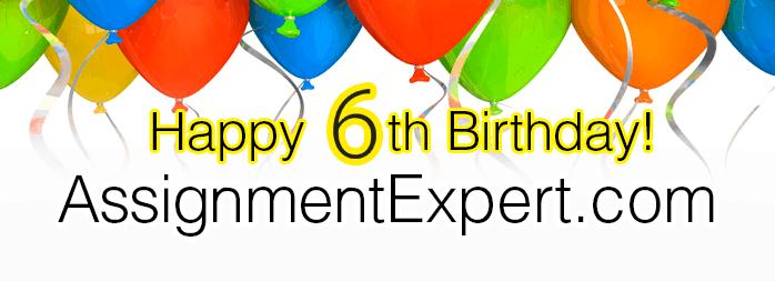 Assignment Expert 6