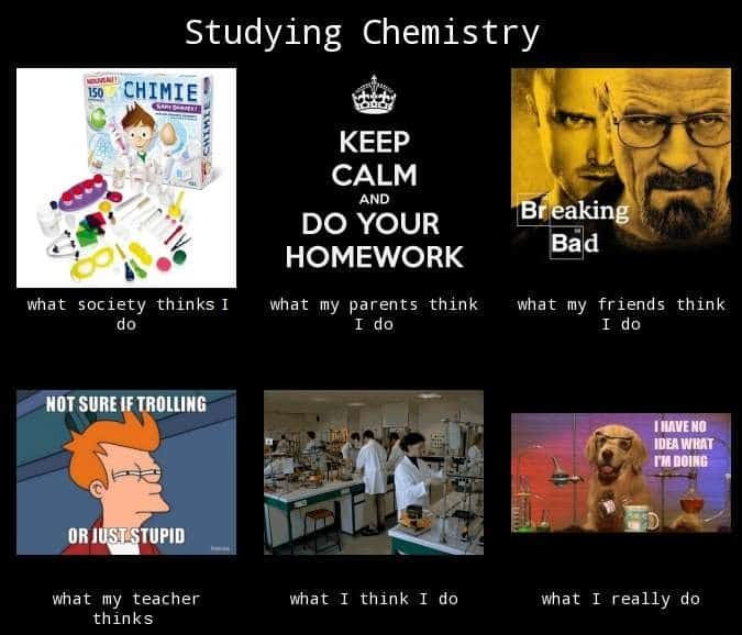 Chemistry studying