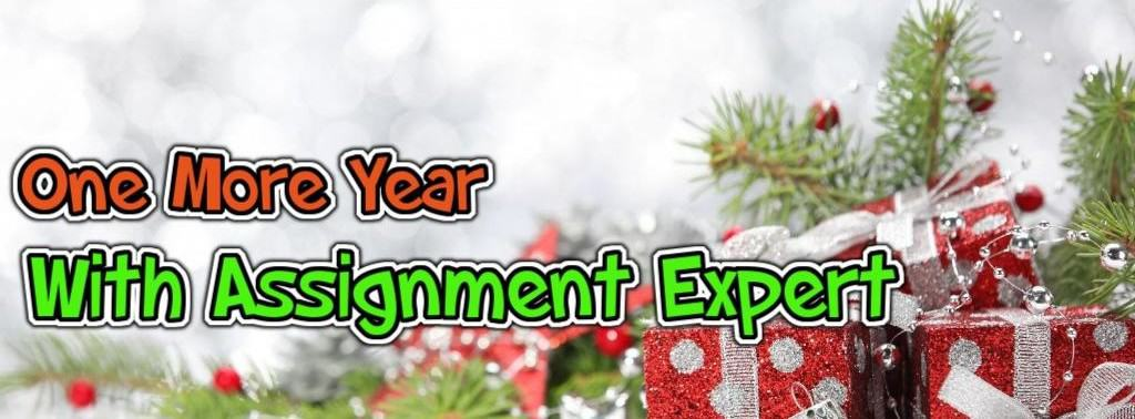 One More Year With Assignment Expert