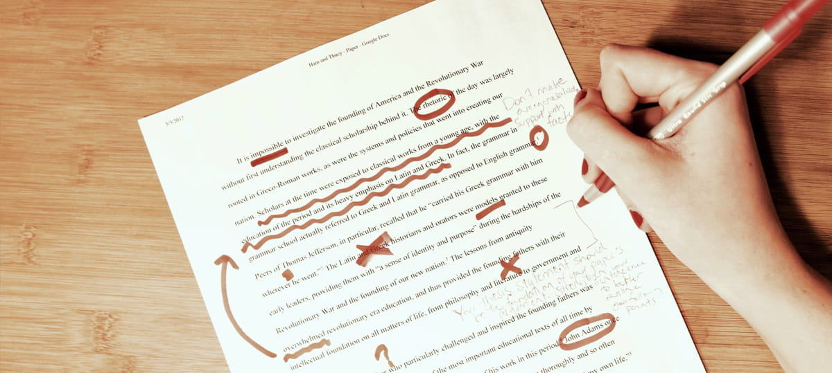 Essay without mistakes