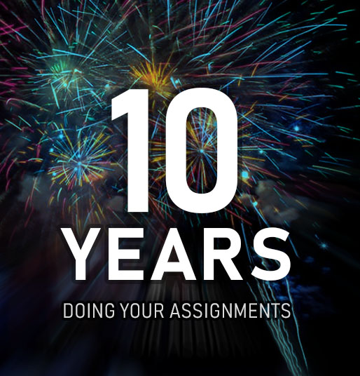10 years of AssignmentExpert